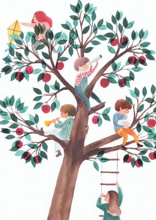 in the apple tree - picture 1