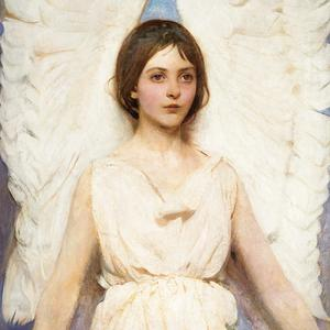 Postcard angel
