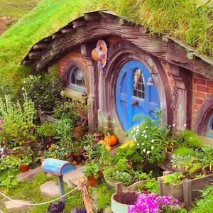 Postcard hobbit's house