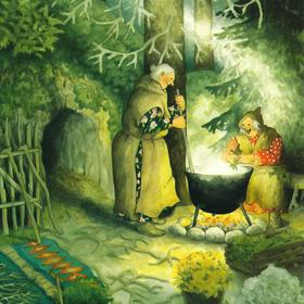 cooking in cauldron - picture 1