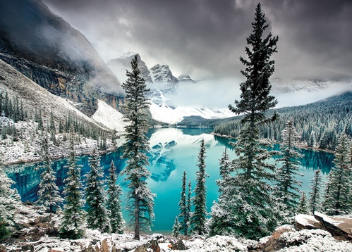 moraine lake - picture 1