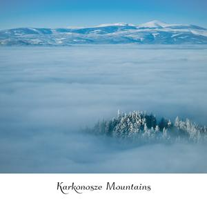 Postcard winter in karkonosze mountains