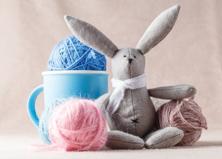 handmade bunny - picture 1