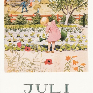 Collection months by elsa beskow - july
