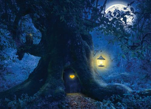 tree home in the magic forest - picture 1