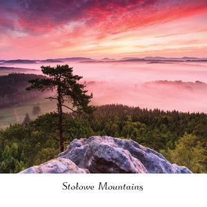 Postcard stołowe mountains