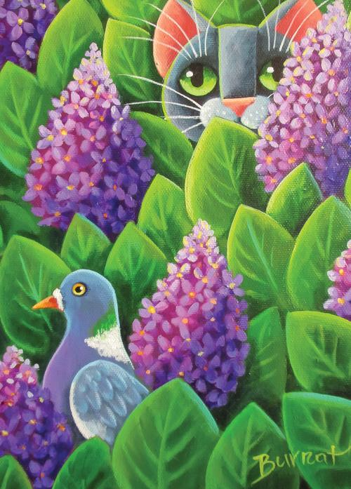 in lilacs - picture 1