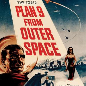 Postcard plan 9 from outer space
