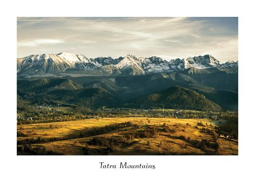 summer sunset in tatras - picture 1
