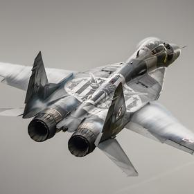 Collection air art - mig-29 with kościuszko squadron's emblem