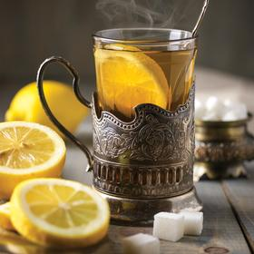 hot tea with lemon - picture 1
