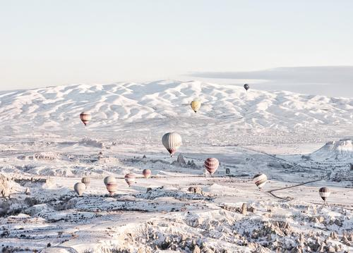 hot air balloons over cappadocia - picture 1