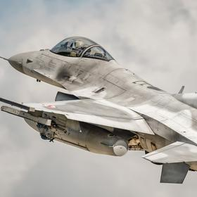 Collection air art - f-16c in the sky