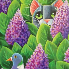 Collection fabulous painting - in lilacs
