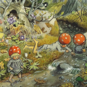 Collection children of the forest - by the brook