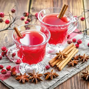 Postcard mulled wine