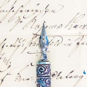 Postcard fountain pen