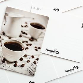 coffee and note sheets - picture 2