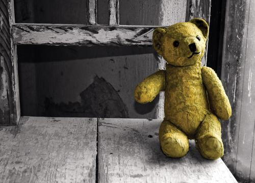 vintage teddy bear - picture 1