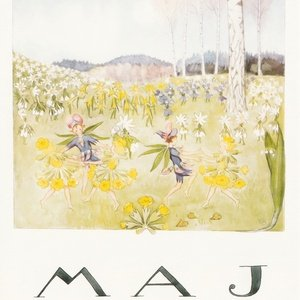 Collection months by elsa beskow - may